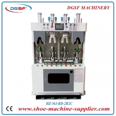 PLC Double cold and double hot 2 airbag type counter moulding machine HZ-563-BD-2H2C